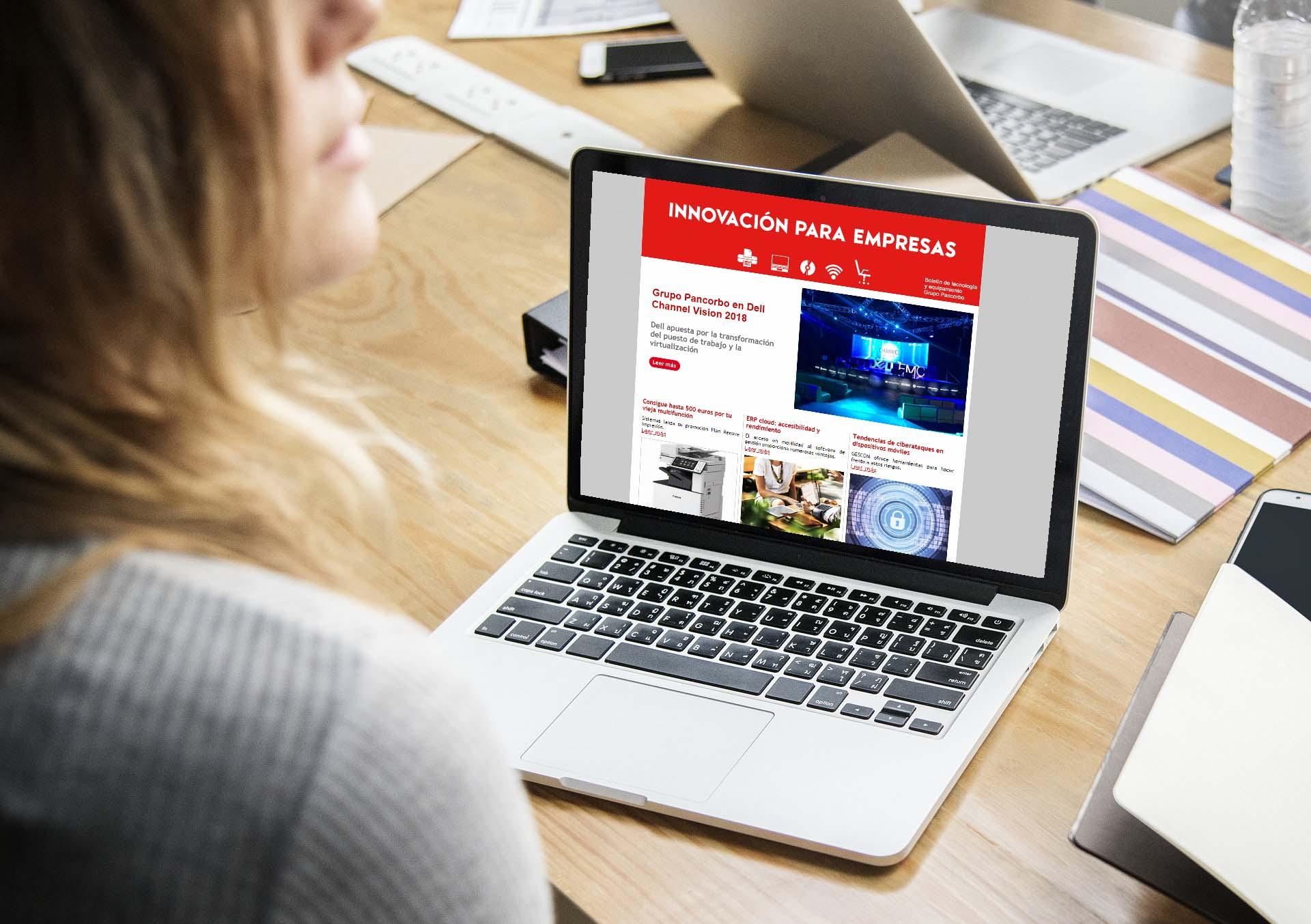 newsletter innovación para empresas
